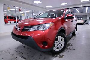 2013 Toyota RAV4  AWD LE ONE OWNER, CLEAN CARPROOF, NON SMOKER
