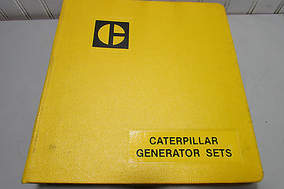 Caterpillar Generator Sets Data Manual Electric Power Generation 1983