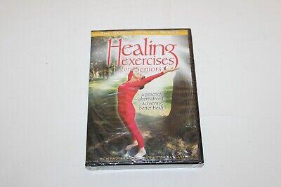 Healing Exercises For Seniors DVD Yoga Tai Chi Shiatsu Relaxation Pat Laster New