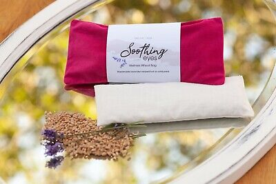 Wheat Bag/Soothing Eyes/Lavender Infused/Yoga/Hot/Cold Heat Pack-Removable Cover Heat Packs Eye Cover