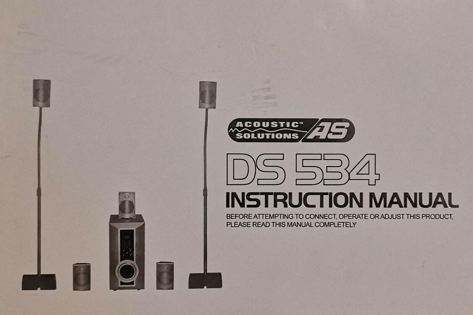 Soundsystem DS 534 5.1
