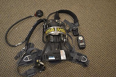 Msa Firehawk Scba Air Pack With Mask