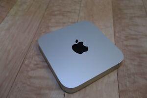 2014 Mac Mini 3.0GHZ i7 16GB RAM 1TB HDD Sierra or High Sierra, El Cap, Yosemite