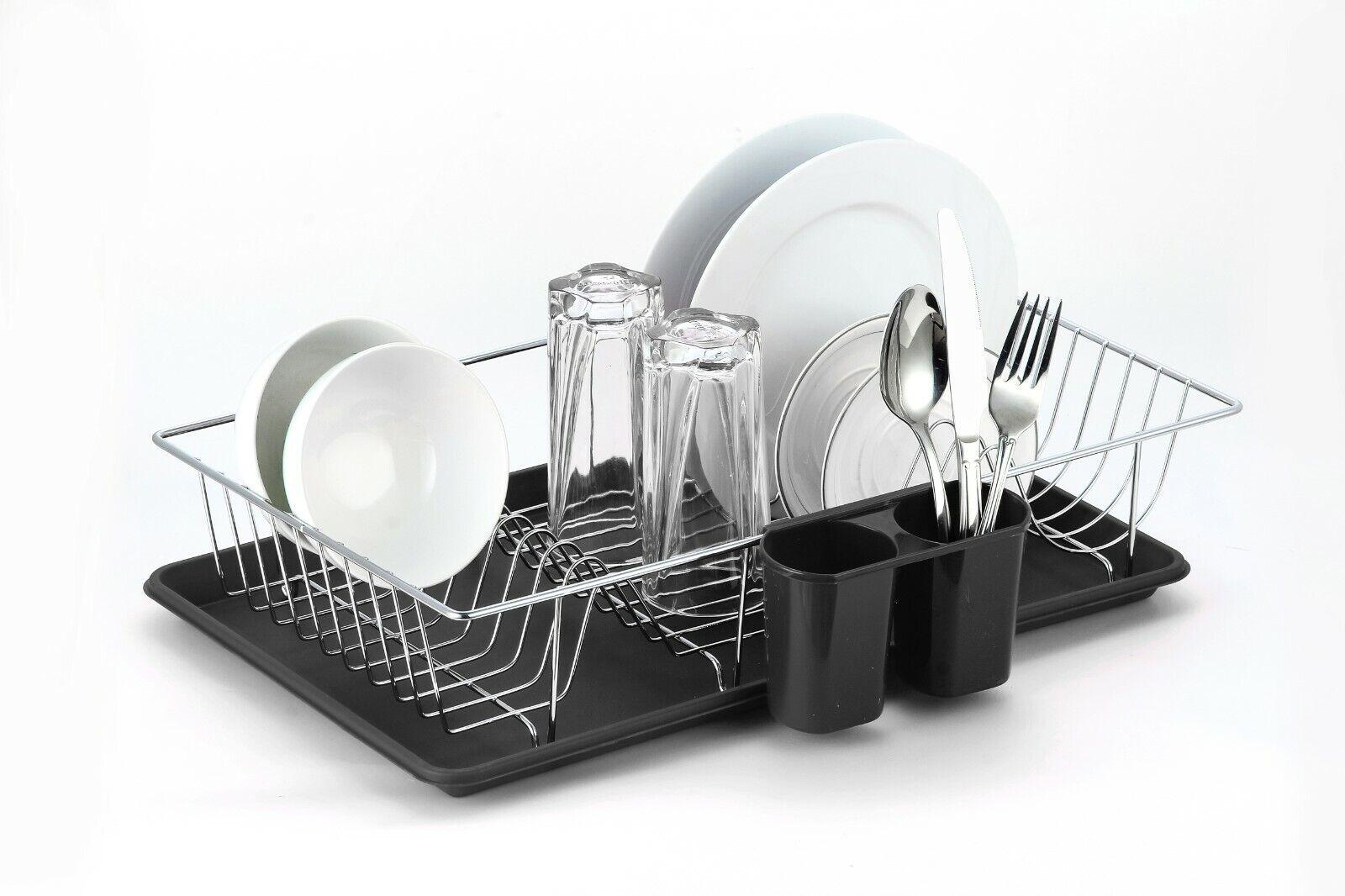 Stainless Steel Dish Rack Dish Drying Rack Kitchen Holder