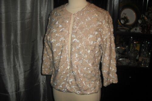 Marilyn Monroe Owned & Worn Iridescent Sequin Sweater from Costumer Warner