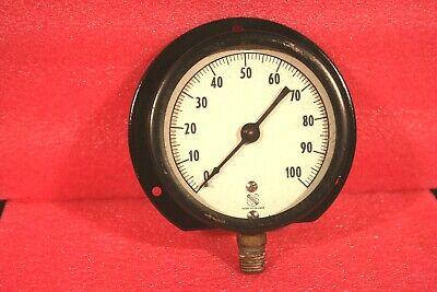 Ashcroft Amc-4289 Pressure Gauge 0-100