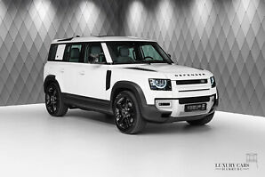 Defender P400 HSE 110 WHITE/BEIGE BLACK PACK 22""