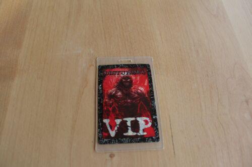 Disturbed - VIP Laminated Backstage Pass  - FREE POSTAGE -