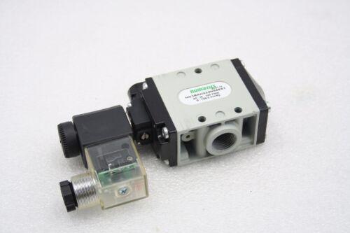 Numatics NG3BAN524N68E61 Series NG Poppet Valve for Vacuum, 24 VDC