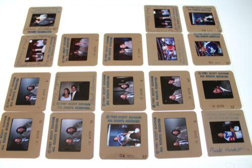 Mark Harmon  VINTAGE LOT COLOR 35MM SLIDE TRANSPARENCY PHOTO 7