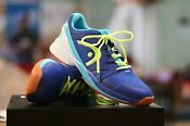 HEAD INDOOR SHOES NITRO PRO RACQUETBALL COURT SHOES BLUE/NEON YELLOW MENS US 7.5