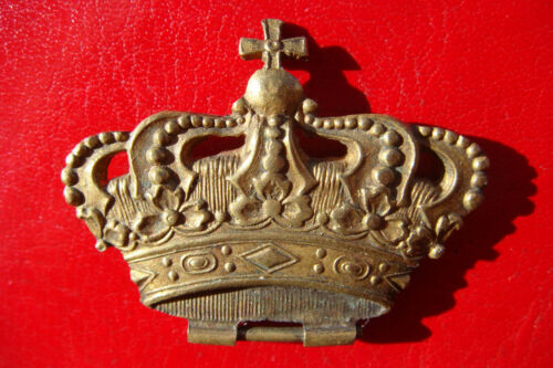 RARE ITALY KINGDOM CROWN PART FROM AN ITALIAN ORDER MEDAL