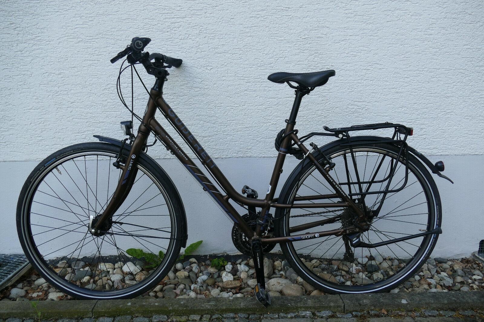 Fahrrad Trekkingrad Damen Gudereit SX-45 28