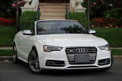 2013 Audi S5 3.0T quattro Premium Plus AWD 2dr Convertible 2013 Audi S5 3.0T quattro Premium Plus AWD 2dr Convertible Automatic 7-Speed AWD
