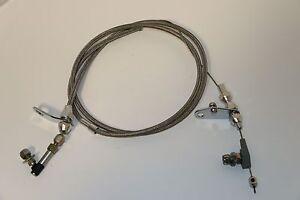 Chrysler 904 Stainless Braided Kick Down Cable Kickdown Detent Tranny Mopar