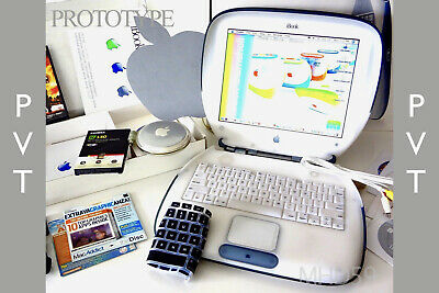 """Apple iBook Clamshell G3 BOXED """"PVT Prototype"""" S.E DVD 467MHz OS9+X  ⭐️⭐️⭐️⭐️⭐️"""
