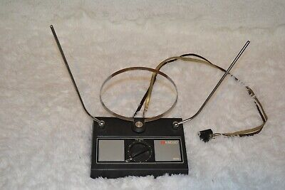 Vintage Gemini Indoor Color TV Antenna KM350 Rabbit Ears VHF/UHF/FM Stereo for sale  Shipping to India