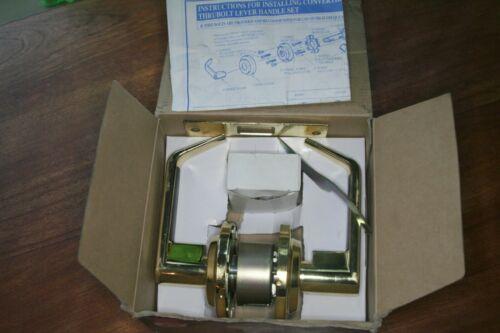 LSDA Commercial Lever set Brass Door Passage Handle 100 series Grade 2
