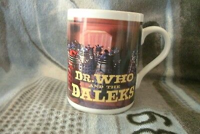 Doctor Who And The Daleks Mug  . FREE UK P+P ...................................