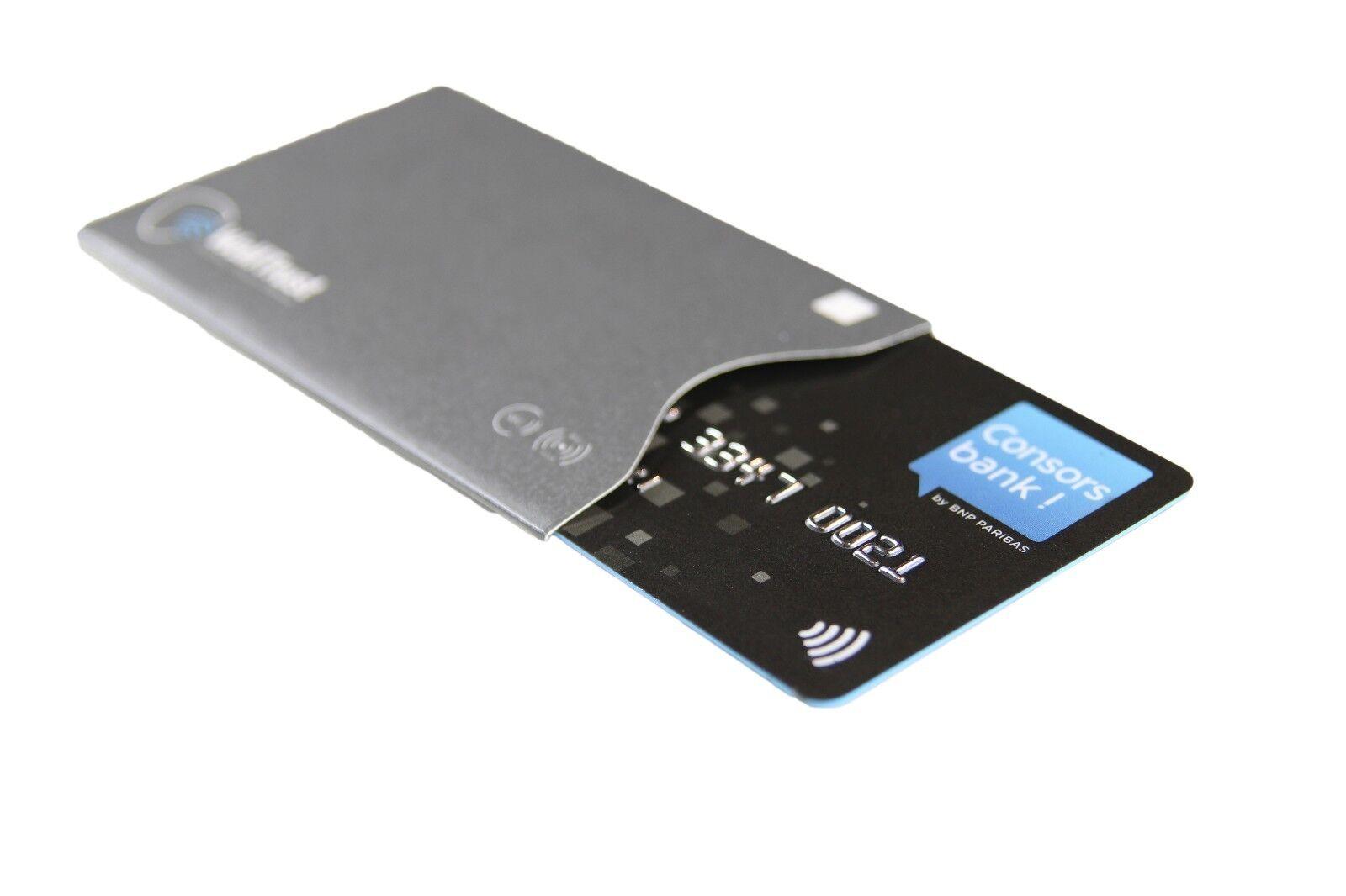 WallTrust® RFID & NFC Blocker Schutzhülle Set für EC-Karten Passport * TÜV * 12X