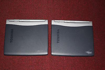 LOT of 2 Toshiba Satellite 1200-S121 Laptop/Notebook, Parts/Repair