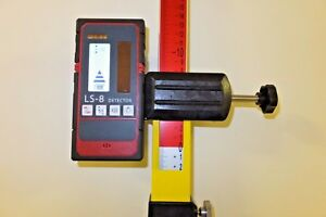 Professional Laser Level Detector / Receiver, model LS-8 with bracket, Brand NEW