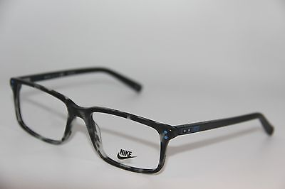 NEW NIKE 7233 070 HAVANA EYEGLASSES AUTHENTIC FRAMES RX 53-17
