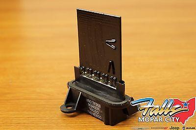2002-2007 Jeep Wrangler Liberty Blower Motor Resistor Mopar - Jeep Blower Motor Resistor