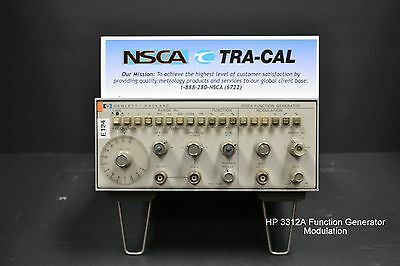 Keysight 3312a Function Generator Modulation - In Stock