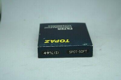 TOPAZ    FILTER   HIGH quality   49mm  SPOT-SOFT