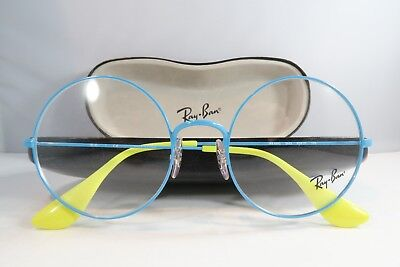 Ray-Ban RB 6392 2942 Blue/Yellow Metal New Authentic Eyeglasses 53mm w/ Case
