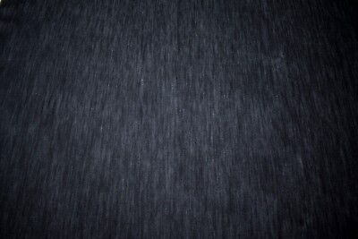 "Indigo Denim Cotton Dark Navy Canvas 12oz. Fabric 66"" Wide Upholstery Apparel FR"