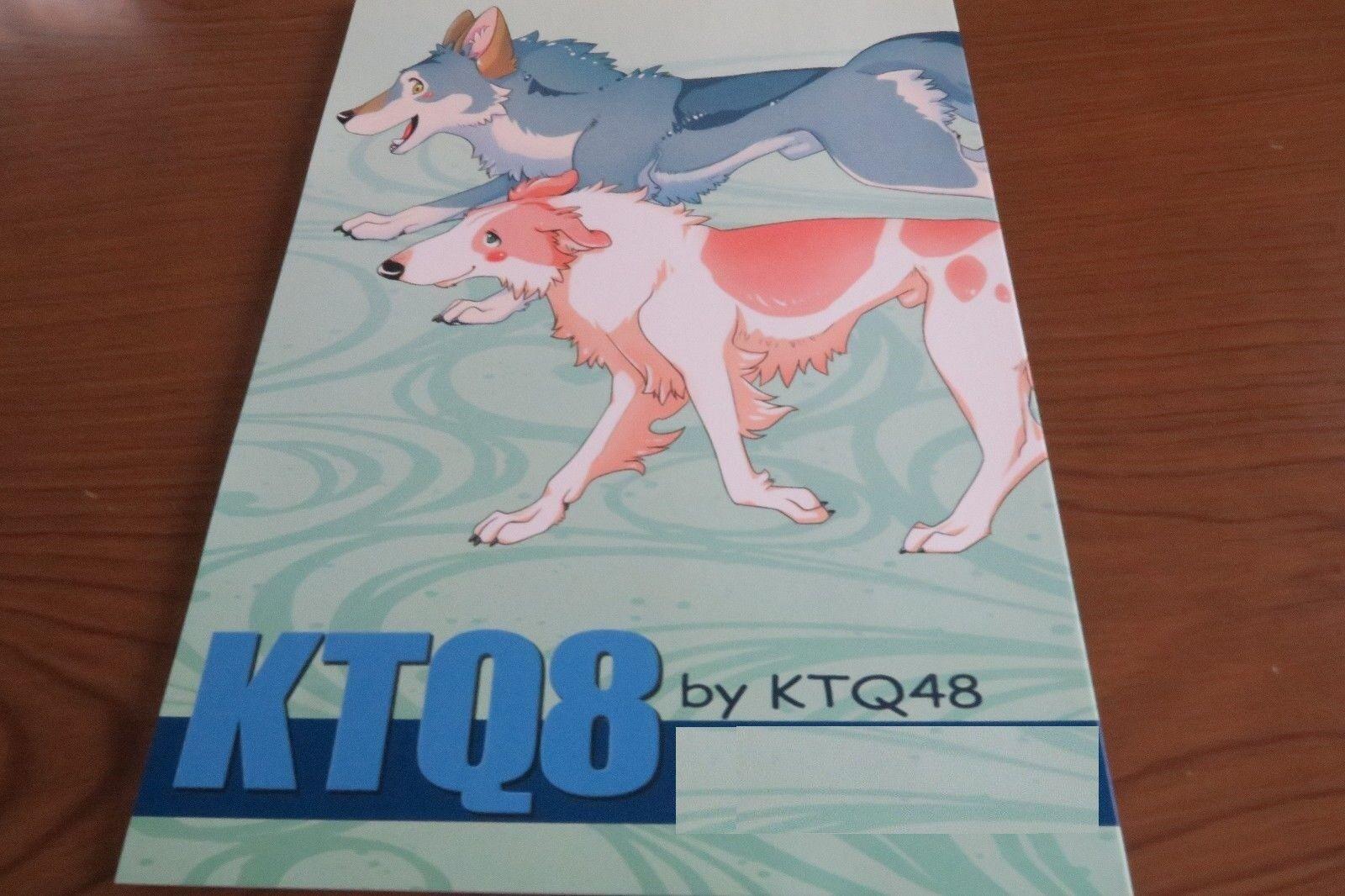 Doujinshi KEMO JOSHI Kemono furry Anthology Mayoineko etc B5 108pages