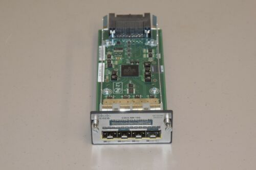 Cisco Catalyst C3KX-NM-10G Network Expansion Module 10Gb SFP+ 73-12299-04 Used