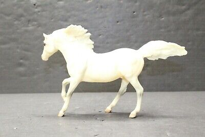 Breyer Opaque White Black Eyed Stylized Trotting Teen Horse
