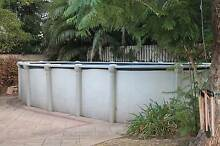 Above Ground Deep End Swimming Pool (As Is) Glengowrie Marion Area Preview