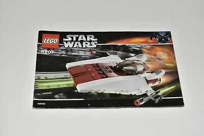Lego Star Wars A-Wing Fighter 6207 Instruction Manual