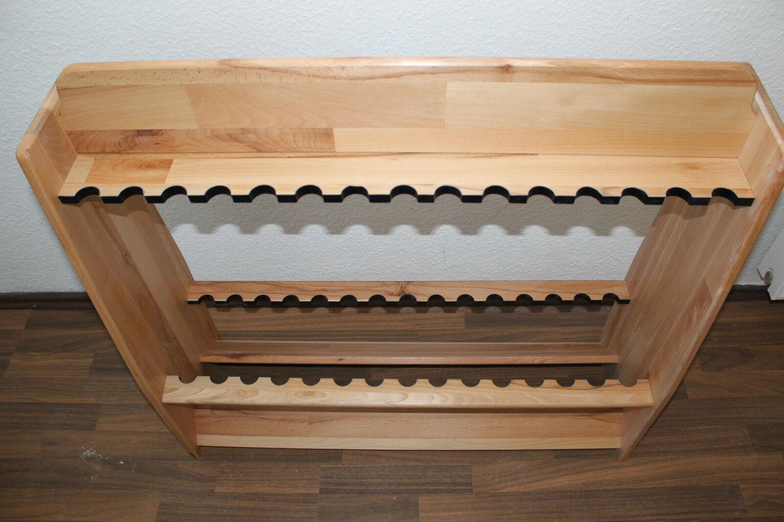 rutenst nder aus massiv holz buche f r 30 ruten eur 59. Black Bedroom Furniture Sets. Home Design Ideas