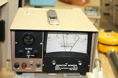 Eberline Rm-16 Radiation Monitor Detector