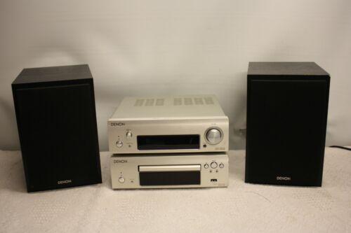 DENON DCD-F109 CD PLAYER & DRA-F109 DAB STEREO RECEIVER & SC-F109 SPEAKERS