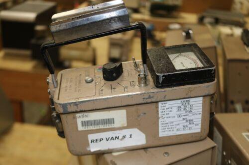 Ludlum 14C-2 Geiger Radiation Survey Meter Only Geiger Radiation