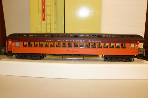 NEW@ Aristocraft ART-31403 Heavyweight MILWAUKEE OBSERVATION CAR w/LIGHTS TESTED