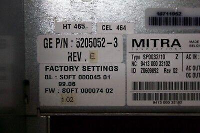 Ge Logiq E9 Ultrasound Part Part Number 5205052-3 Rev E