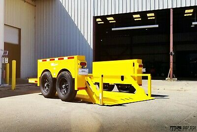 2021 Hgl7610 Hydraulic Drop Deck Scissor Lift Trailer 6 X 10 - Drop Deck Depot