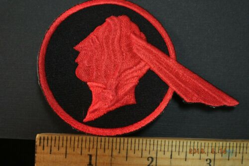 """Pontiac  Old Logo Embroidered Iron-on Patch  3.5x2.5"""""""