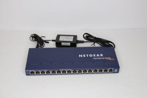 NetGear Fast Ethernet Switch Model FS116 - 16 Ports