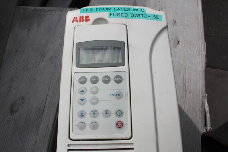 ABB 15KW VSD Variable Speed Drive   IP21 UL T ACS800-01-0020-3+E200+P901+P904