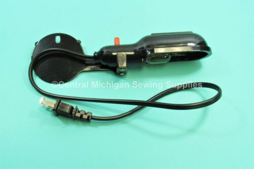 Replacement Light Fixture For Sewing Machines With Rear Inspection Cover