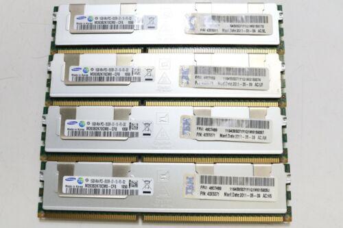 Samsung (4 X 16GB) 64GB 4Rx4 PC3-8500R-07-10-F0-D2 Registered ECC Memory (15859)