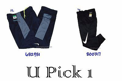 Nike Athletic Pants Dri Fit Sports Mens Active Sportswear Training Basketball